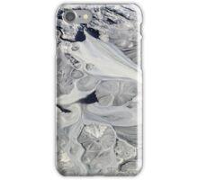 Glacial mud iPhone Case/Skin