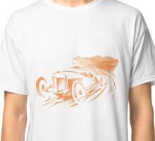 Vintage Racecar - Antique Brown Classic T-Shirt