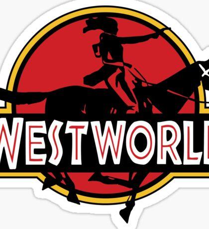 Westworld Park Sticker