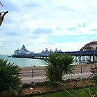 Eastbourne Pier Weeks After the Fire by karina5