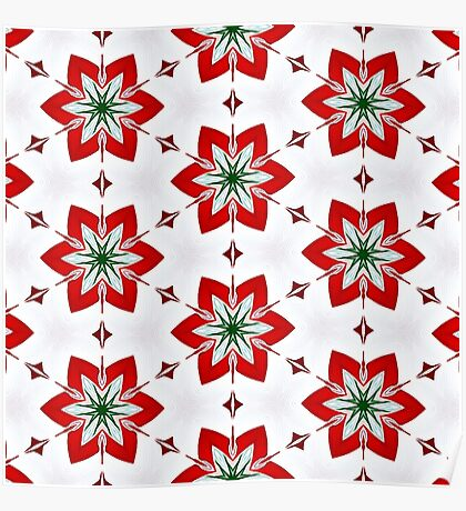 Christmas Candy Canes #2 Poster