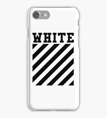 OFF WHITE iPhone Case/Skin