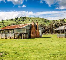 Kimo Shearing Quarters Nangus NSW by alice taprell