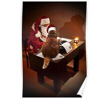 Santa's Supurrvisor Poster