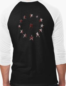 Stars of the American Commonwealth bloodied Men's Baseball ¾ T-Shirt