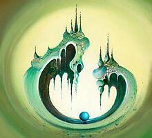 Pearl's Castle by Anna Miarczynska