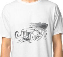 Vintage Racecar / Roadster (black) Classic T-Shirt