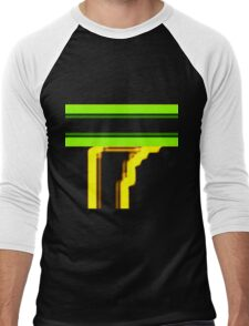 Tube Colors #4.12 No Background Men's Baseball ¾ T-Shirt
