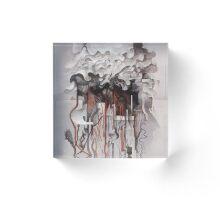 The Unfurling Dreamer Acrylic Block
