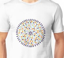 MultiColor Flower Unisex T-Shirt