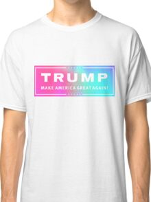 Holographic Trump Logo Classic T-Shirt