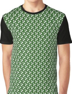 Christmas Trees/ Snowflakes, green Graphic T-Shirt