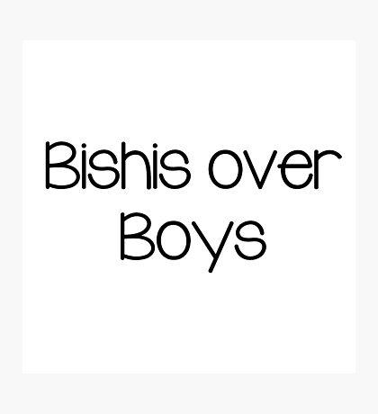Bishis over boys Photographic Print