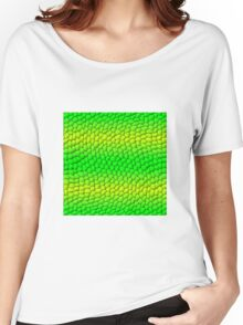Scales Gradient - Green | Lime Yellow | Black Women's Relaxed Fit T-Shirt