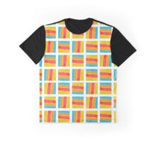 Multicolor handpainted squares Graphic T-Shirt