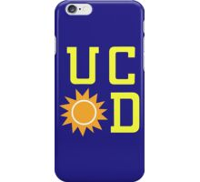 UC Sunnydale (accurate artwork) iPhone Case/Skin
