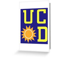 UC Sunnydale (accurate artwork) Greeting Card