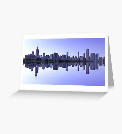 Skyline Déjà vu Greeting Card