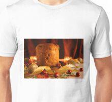 Christmas cake and Christmas decorations Unisex T-Shirt