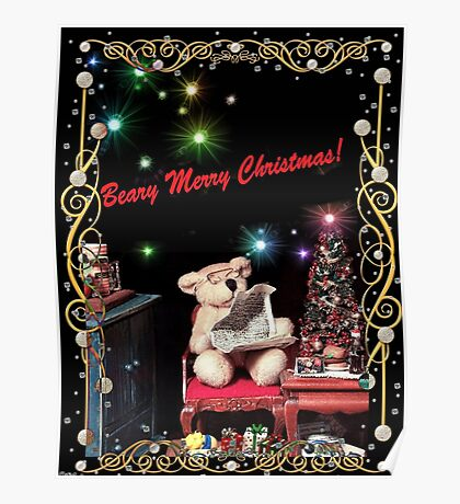 Beary Merry Christmas! Poster