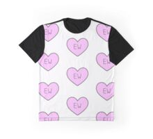 Ew - Patterned Graphic T-Shirt