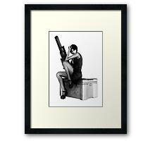 Assassin Girl Framed Print