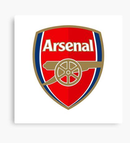 Arsenal Soccer Canvas Print