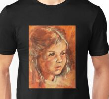 Portrait of a little Girl Unisex T-Shirt