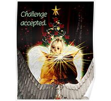 Christmas Angel Face Off Poster