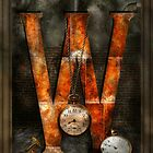 Steampunk - Alphabet - W is for Watches by Mike  Savad