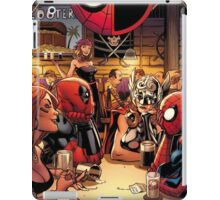 Deadpool and Spider-Man in A Bar iPad Case/Skin