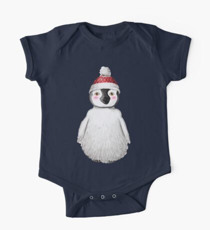 Cute Little Penguin One Piece - Short Sleeve