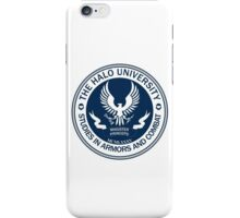 Halo University - Master (chief) Grades iPhone Case/Skin