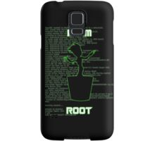 I AM ROOT (simple version) Samsung Galaxy Case/Skin