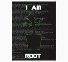 I AM ROOT (simple version) Kids Clothes