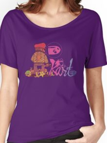 Super Mario Kart Drive Crossover Women's Relaxed Fit T-Shirt