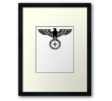 Badge of Honor  Framed Print