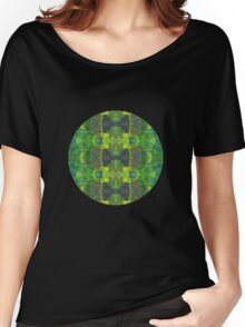 Green abstract detail painting - 2016 Women's Relaxed Fit T-Shirt