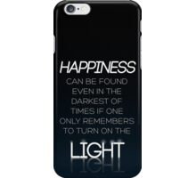 HARRY POTTER Quote by Albus Dumbledore iPhone Case/Skin