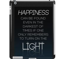 HARRY POTTER Quote by Albus Dumbledore iPad Case/Skin
