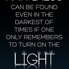 HARRY POTTER Quote by Albus Dumbledore by raeuberstochter