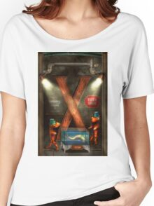 Steampunk - Alphabet - X is for Xenobiology Women's Relaxed Fit T-Shirt