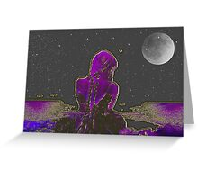 She-  Art + Products Design  Greeting Card