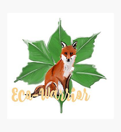 Eco-Warrior (Fox Edition)  Photographic Print