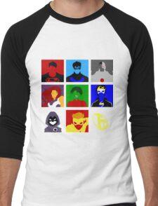 Titans GO!! Men's Baseball ¾ T-Shirt