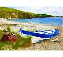 Shetland Ness Yoal 'Vada' Photographic Print