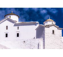 Skopelos Chapel Photographic Print
