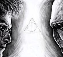 Harry vs Voldemort by Annalise Butler