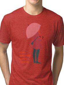 Not Another Happy Ending Tri-blend T-Shirt