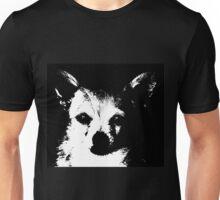 Black and White Chihuahua Unisex T-Shirt